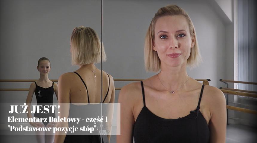 Elementarz baletowy - podstawowe pozycje stóp