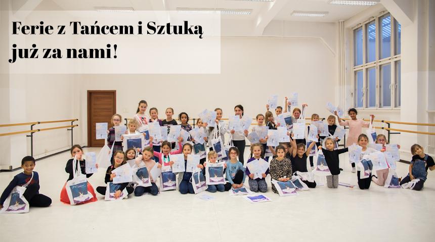 Ferie w Szkole Baletowej Anny Niedźwiedź