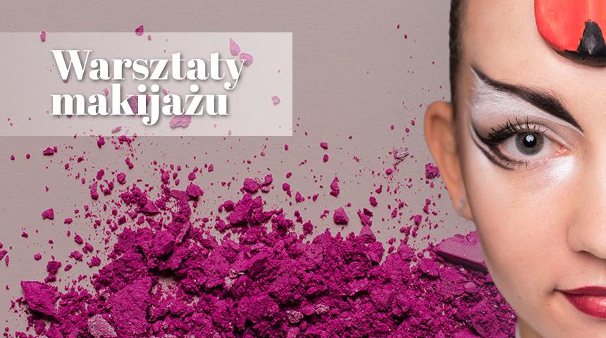 Warsztaty makijażu scenicznego będą przeprowadzone przez Dariusza Kubiaka