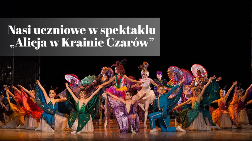 Alicja w Krainie Czarów teatr dla dzieci Poznań