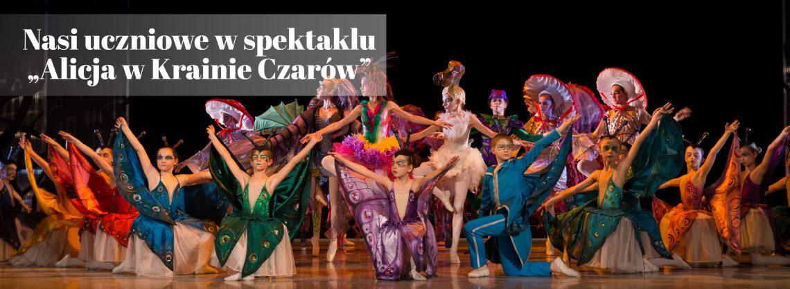 Alicja w Krainie Czarów - Szkoła Baletowa Poznań