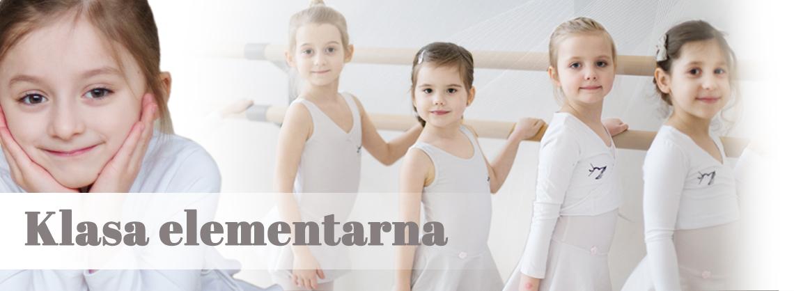 klasa elementarna Szkoła Baletowa Anny Niedźwiedź