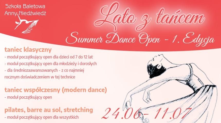 Otwarte zajęcia taneczne w Poznaniu