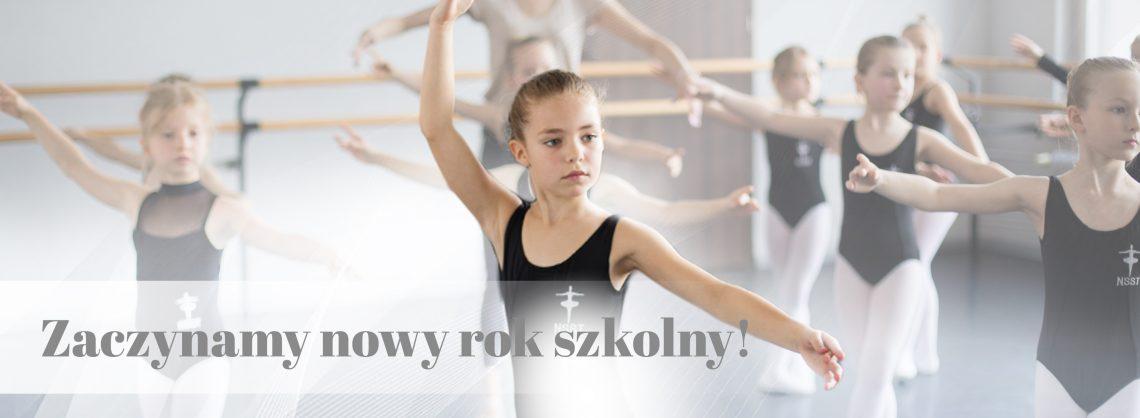 witamy w nowym roku szkolnym - szkoła baletowa