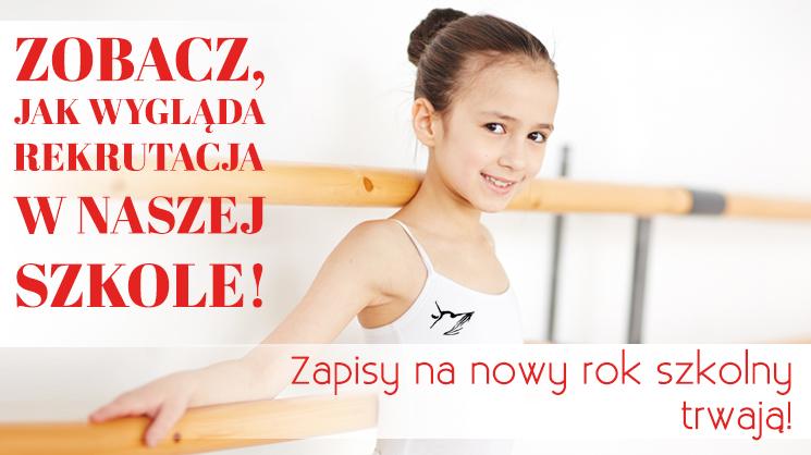 szkoła baletowa poznań da dzieci