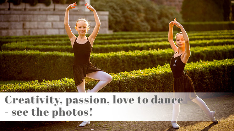 ballet school in Poznań Poland